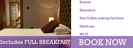 superior Double Twin hotel room cookstown