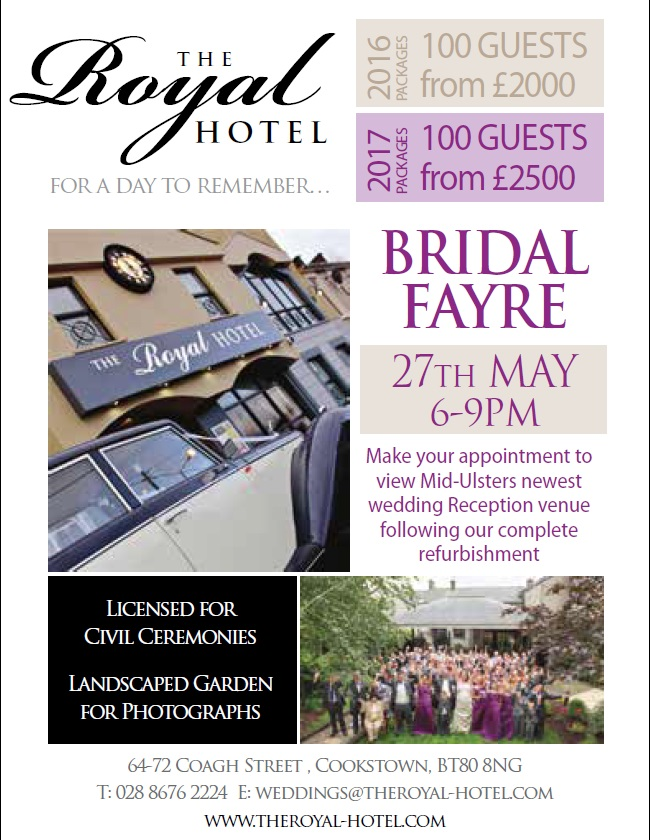 wedding advert march 2016