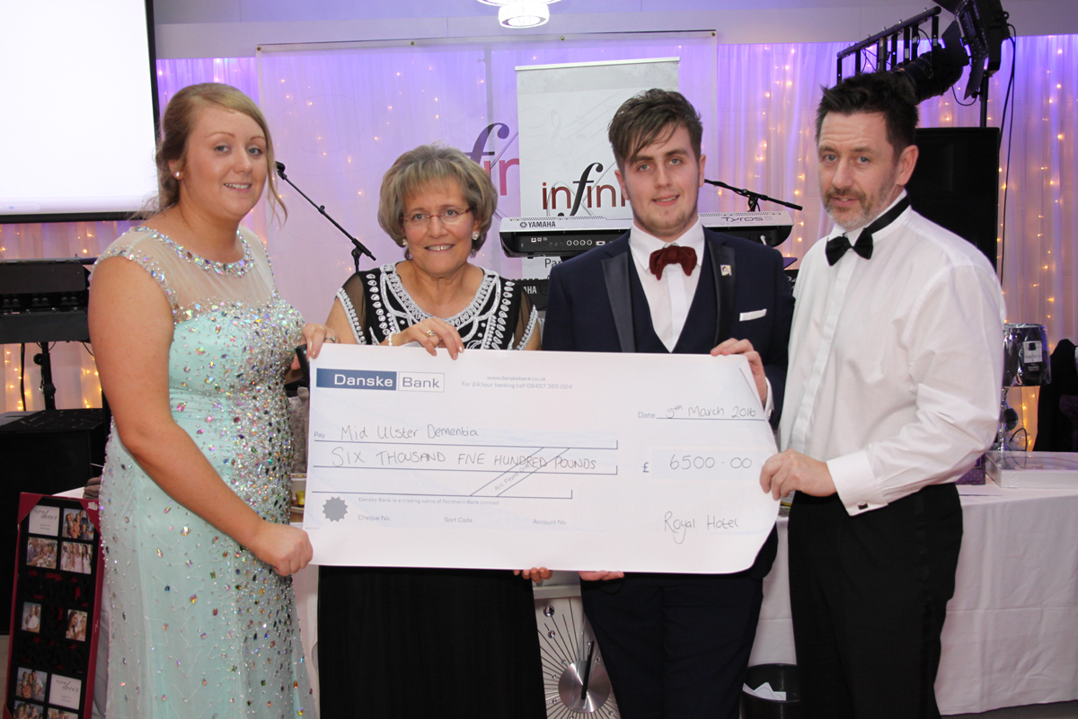 The royal hotel Charity Mid Ulster Dementia fundraiser