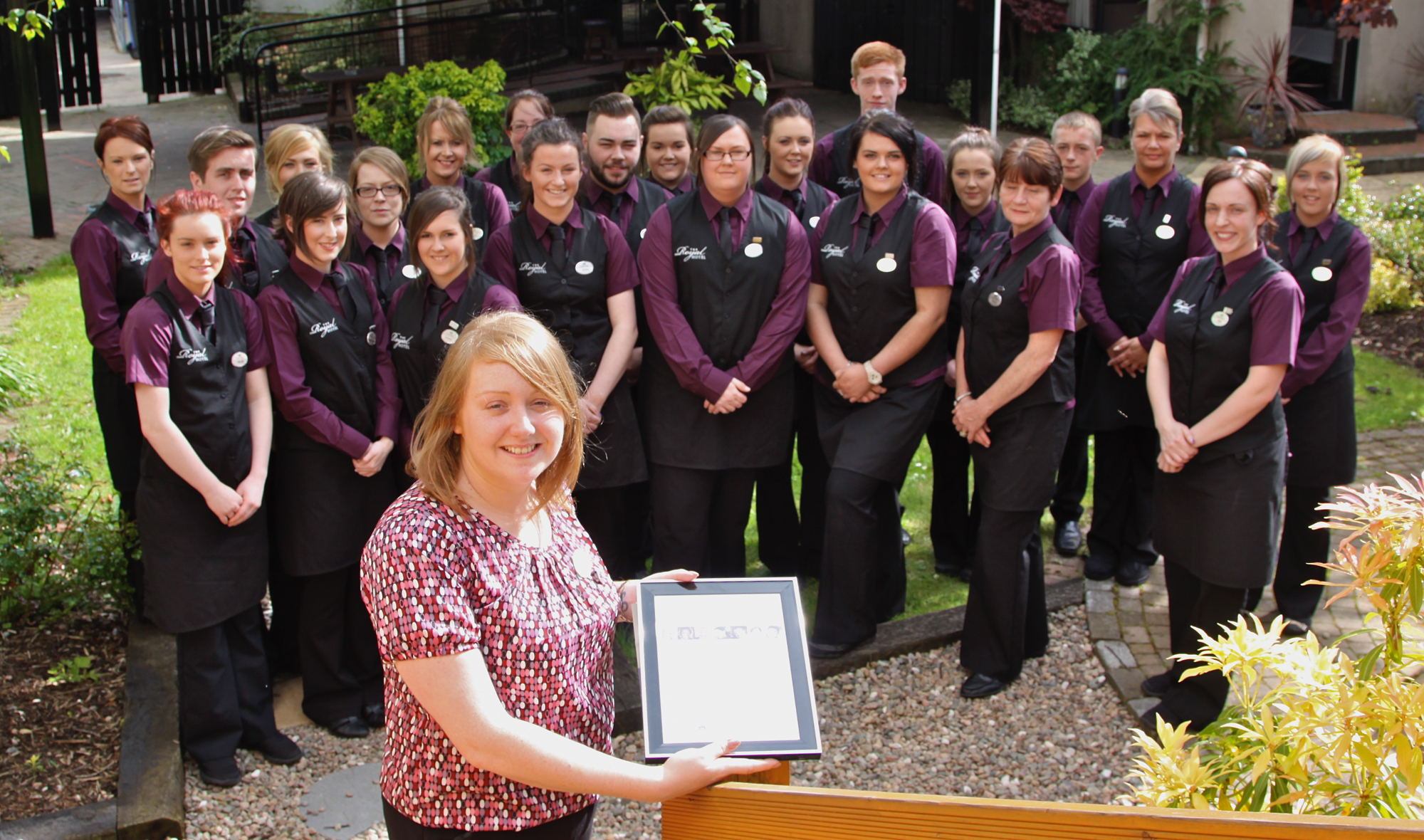 meet the royal hotel team , cookstown